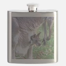 Joey in Mothers Pouch Flask
