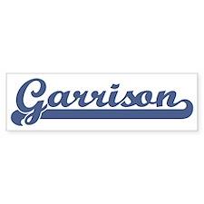 Garrison (sport-blue) Bumper Bumper Sticker
