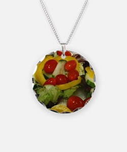 Fresh Garden Salad Necklace