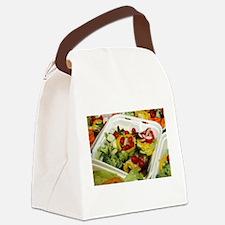 Fresh Garden Salad Canvas Lunch Bag