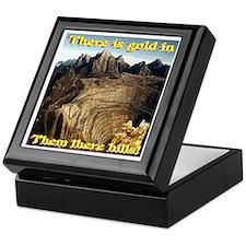 Virtual Gold Mine Keepsake Box