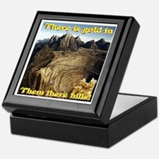 Virtual Gold Mine Keepsake Box