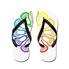 Summer Set Spectrum Heads Flip Flops