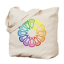 Summer Set Spectrum Heads Tote Bag