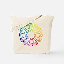 Summer Set Spectrum Heads Tote Bag