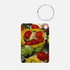 Fresh Garden Salad Keychains