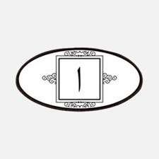 Alif Arabic letter A monogram Patch