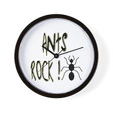Ants Rock ! Wall Clock