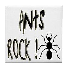 Ants Rock ! Tile Coaster