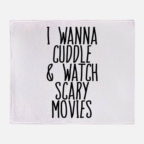 Cuddle and Watch a Movie Throw Blanket