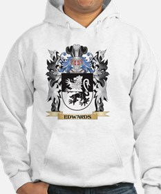 Edwards Coat of Arms - Family Cr Hoodie