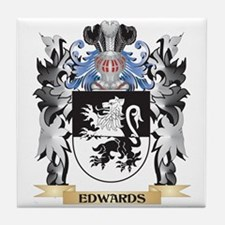 Edwards Coat of Arms - Family Crest Tile Coaster