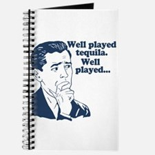 Well Played Tequila Journal