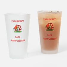 Add Your Own Logo Award Drinking Glass