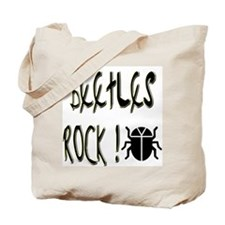 Beetles Rock ! Tote Bag
