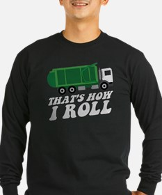 Garbage Truck Long Sleeve T-Shirt