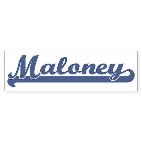 Maloney (sport-blue) Bumper Sticker