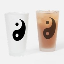 Yin And Yang Drinking Glass