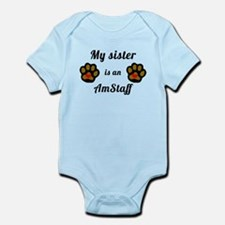 My Sister Is An AmStaff Body Suit
