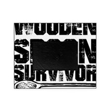 wooden spoon survivor Picture Frame