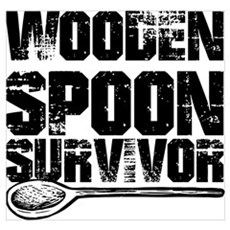 wooden spoon survivor Poster