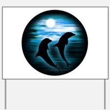 Midnight Dolphins copy.png Yard Sign