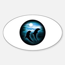 Midnight Dolphins copy Decal