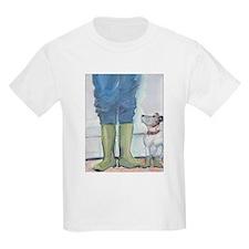 Dog's Rain Boots T-Shirt