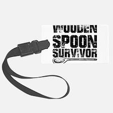 wooden spoon survivor Luggage Tag