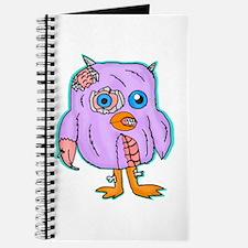 Purple Zombie Penguin Journal