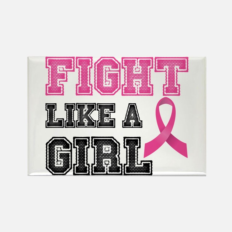 Fight Like a Girl Magnets