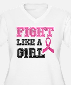 Fight Like a Girl Plus Size T-Shirt