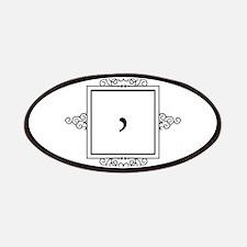 Waaw Arabic letter W monogram Patch