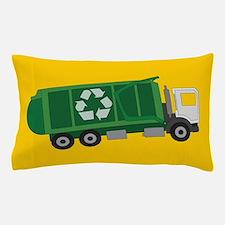 Recycling Truck Pillow Case