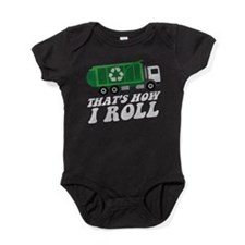 Recycling Truck Baby Bodysuit