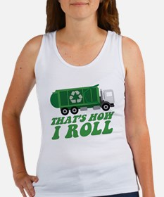 Recycling Truck Tank Top