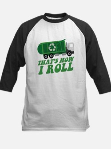 Recycling Truck Baseball Jersey