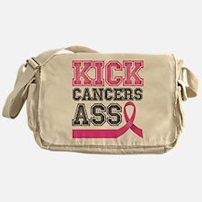 Kick Cancers Ass Messenger Bag