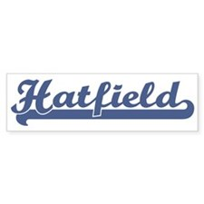 Hatfield (sport-blue) Bumper Bumper Stickers