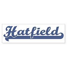 Hatfield (sport-blue) Bumper Stickers