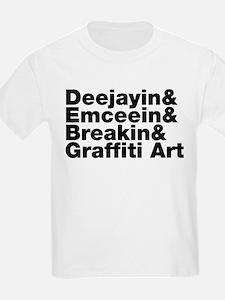 Four Elements of Hip Hop T-Shirt