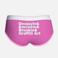 Four Elements of Hip Hop Women's Boy Brief