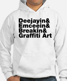 Four Elements of Hip Hop Jumper Hoody