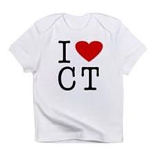 Cute I love connecticut Infant T-Shirt