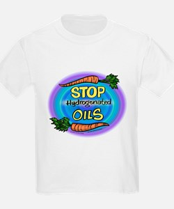 Stop Hydrogenated Oils T-Shirt