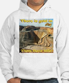 Gold Mine Nugget In The Sky Hoodie