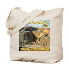 Gold Mine Nugget In The Sky Tote Bag
