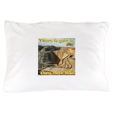 Gold Mine Nugget In The Sky Pillow Case