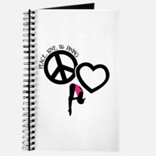 PEACE-LOVE-DIVING Journal
