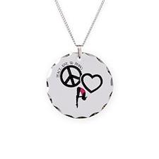 PEACE-LOVE-DIVING Necklace